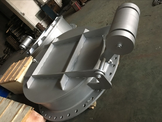 Flap Valve Made By Stainless Steel Water Check Valve F304 Or CF8M Size From DN300 To DN3200