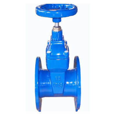 Soft Wedge Resilient Seated 10 Inch Gate Valve With SS316 Spindle For Chemical